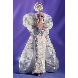 <em>Bob Mackie</em> Platinum Barbie&#174; Doll