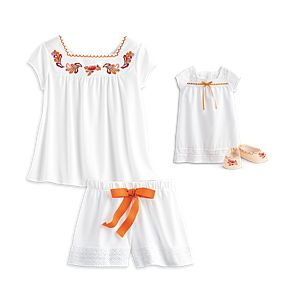 Josefina's Desert Dreams Pajamas for Dolls & Girls