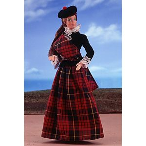 <em>Scottish</em> Barbie&#174; Doll 1st Edition