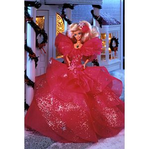 1990 Happy Holidays® Barbie® Doll