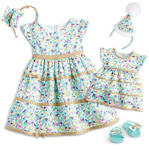 Confetti Cutie Dress for Dolls & Little Girls