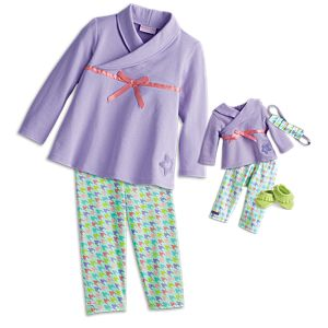 Comfy & Cozy Outfit for Bitty Baby Dolls & Little Girls