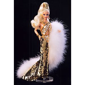 <em>Bob Mackie</em> Gold Barbie&#174;&nbsp;Doll
