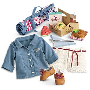 Tenney's Picnic Outfit & Set
