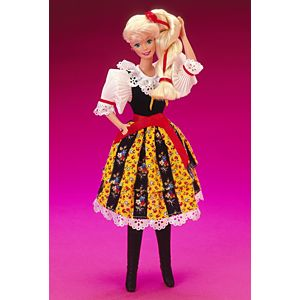 <em>Czechoslovakian</em> Barbie&#174; Doll