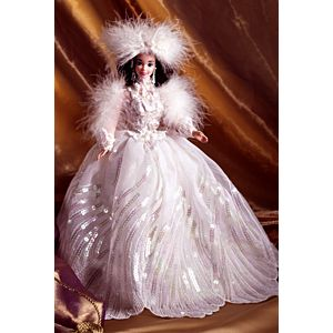 Snow Princess Barbie® Doll (brunette)