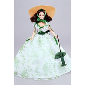 Barbie® Doll as Scarlett O'Hara (BBQ Dress)