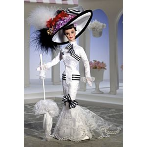 Barbie® Doll as Eliza Doolittle from My Fair Lady™ at Ascot