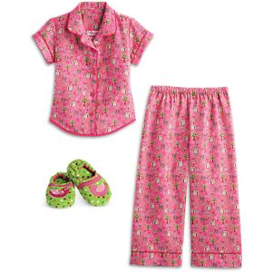 Enchanted Garden PJs & Slippers for Girls
