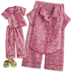 Enchanted Garden PJs for WellieWishers Dolls & Girls