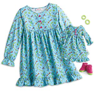 Fantastic Firefly PJs for WellieWishers™ Dolls & Girls