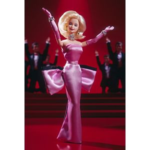 Barbie® Doll as Marilyn™ in the Pink Dress from Gentlemen Prefer Blondes™