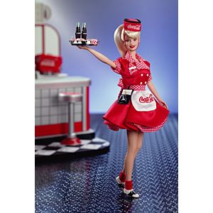 Coca-Cola® Barbie® Doll (Waitress)
