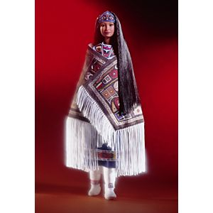 <em>Northwest Coast Native American</em> Barbie&#174; Doll