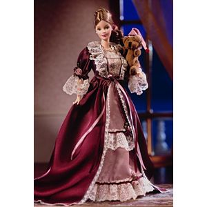 Victorian Barbie® Doll with Cedric Bear™