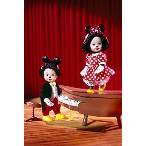 Tommy™ and Kelly® dressed as Mickey & Minnie