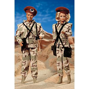 Army Barbie® Doll & Ken® Doll Deluxe Set