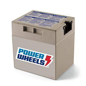 Power Wheels® 12-Volt Rechargeable Battery