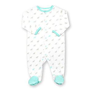 Elephant Teal Printed Sleep n' Play