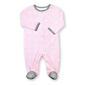 Pink Sorrento Print Sleep n' Play