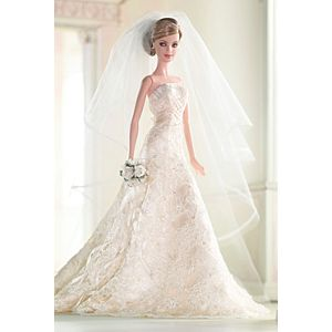 <em>Carolina Herrera Bride</em> Barbie&#174; Doll