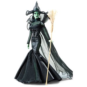 <em>The Wizard of Oz&#8482; Fantasy Glamour</em> Wicked Witch of the West&#8482; Doll