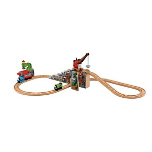 Thomas & Friends™ Wooden Railway Merrick & the Rock Crusher Set