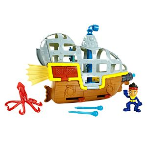 Jake and the Never Land Pirates Submarine Bucky's Never Sea Adventure
