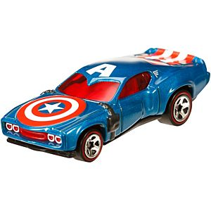 Hot Wheels® Marvel® Captain America™ Character Car