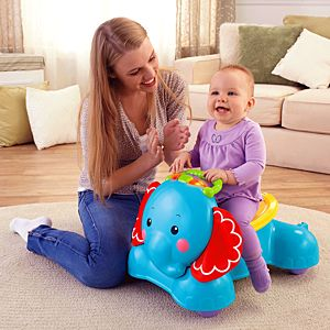 3-in-1 Bounce, Stride & Ride Elephant