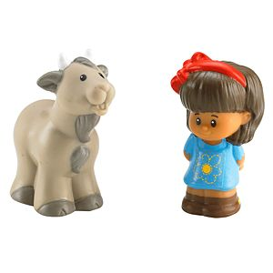 Little People® Mia® & Goat