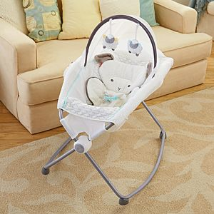 My Little Lamb™ Deluxe Newborn Rock ' Play™ Sleeper with Canopy