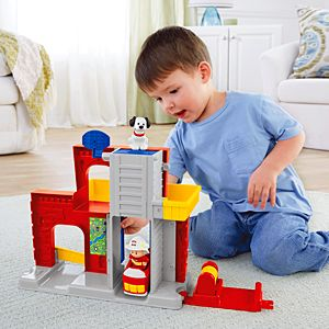 Little People® Fire Station