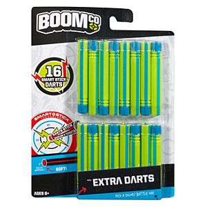 BOOMco.™ Extra Darts (Green with Blue Stripe)