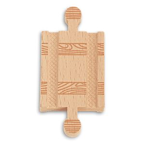 "Thomas & Friends™ Wooden Railway Track Piece 2.0"" Straight Male to Male"