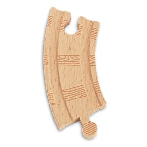 "Thomas & Friends™ Wooden Railway Track Piece 3.5"" Curved Male to Female"