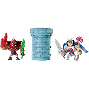 Masters of the Universe® Mini King He-Man™ & Clawful® Figures