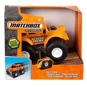 Matchbox® Rev Rigs™ Jungle Tours Vehicle