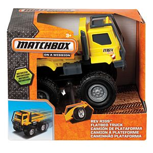 Matchbox® Rev Rigs™ Flatbed Truck