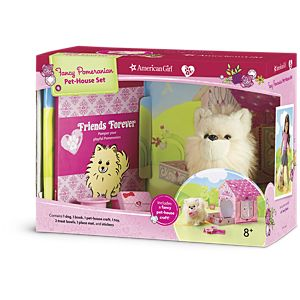 Fancy Pomeranian Pet-House Set<br/>