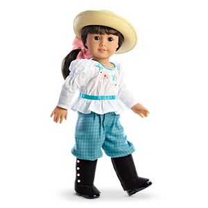 Samantha's Bicycling Outfit for 18-inch Dolls