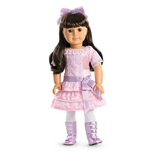 Samantha's Frilly Frock for 18-inch Dolls