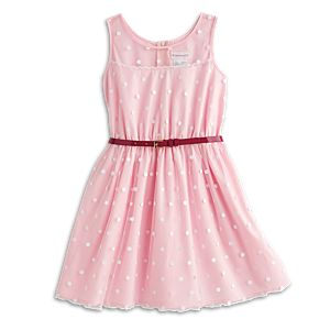 Pink Polka-Dot Dress for Girls