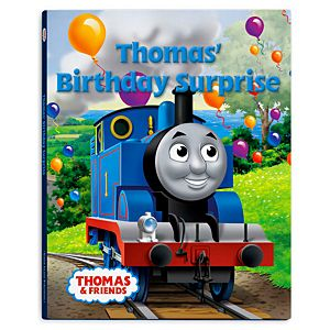 Thomas & Friends™ Wooden Railway Thomas Birthday Surprise Book