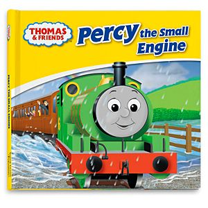 Thomas & Friends™ Wooden Railway Percy the Small Engine Book