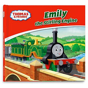 Thomas & Friends™ Wooden Railway Emily the Stirling Engine Book