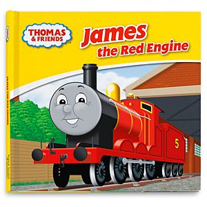 Thomas & Friends™ Wooden Railway James the Red Engine Book