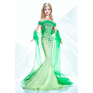 August Peridot™ Barbie® Doll