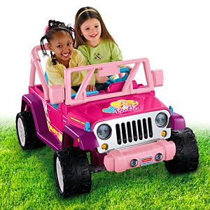 Power Wheels® Barbie™ Jammin' Jeep® Wrangler