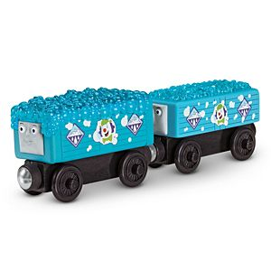 Thomas & Friends™ Wooden Railway Logan and the Big Blue Engines Accessory Pack